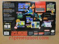 Super Nintendo Entertainment System Model 2 Box Back 200px