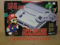 Super Nintendo Entertainment System Model 2 Box Front 200px