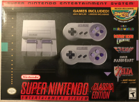 SNES Classic Edition  Box Front 200px