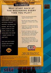 Sega CD Backup RAM  Box Back 200px