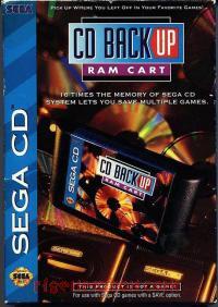 Sega CD Backup RAM  Box Front 200px