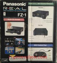 3DO Interactive Multiplayer Panasonic FZ-1 R.E.A.L. Box Back 200px