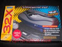 Sega Genesis 32X  Box Front 200px