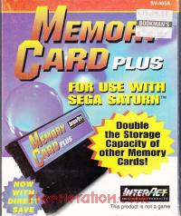 Memory Card Plus  Box Front 200px