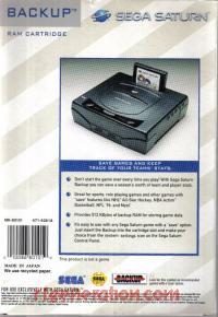 Backup RAM Cart  Box Back 200px
