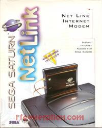NetLink Modem Official Sega Box Front 200px
