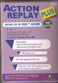 Action Replay 4M Plus  Box Back 200px