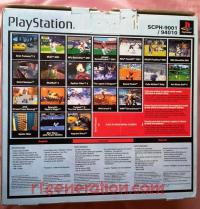 Sony PlayStation Dual Shock, SCPH-9001/94010 Box Back 200px