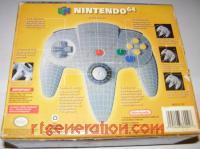 Nintendo 64 Controller Gray Box Back 200px