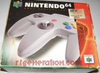 Nintendo 64 Controller Gray Box Front 200px