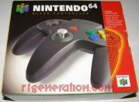 Nintendo 64 Controller Black Box Front 200px