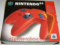 Nintendo 64 Controller Red Box Front 200px
