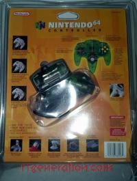 Nintendo 64 Controller Jungle Green Box Back 200px