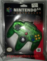 Nintendo 64 Controller Jungle Green Box Front 200px