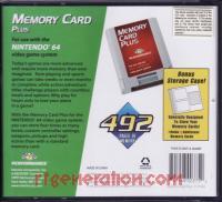Performance Memory Card Plus  Box Back 200px