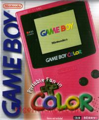 Nintendo Game Boy Color Berry Box Front 200px