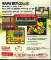 Nintendo Game Boy Color Kiwi Box Back 200px