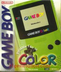 Nintendo Game Boy Color Kiwi Box Front 200px