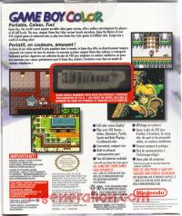 Nintendo Game Boy Color Atomic Purple Box Back 200px