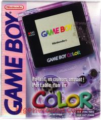 Nintendo Game Boy Color Atomic Purple Box Front 200px