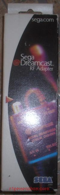 Dreamcast RF Adapter Official Sega Box Front 200px