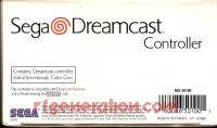 Dreamcast Controller Official Box Back 200px
