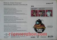 Official Street Fighter Anniversary Edition Controller Ryu Box Back 200px