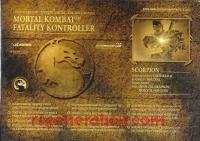 Mortal Kombat Fatality Kontroller Scorpion Box Back 200px