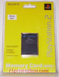 8MB Memory Card Black - Official Sony Box Front 200px