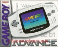 Nintendo Game Boy Advance Arctic White Box Front 200px