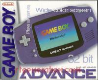 Nintendo Game Boy Advance Indigo Box Front 200px