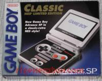 Nintendo Game Boy Advance SP Classic NES Limited Edition Box Front 200px
