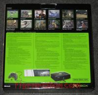 Microsoft Xbox Mountain Dew Lime Green Box Back 200px