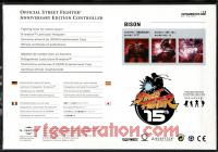 Official Street Fighter Anniversary Edition Controller Bison Box Back 200px