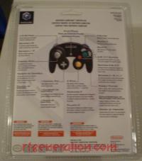 GameCube Controller Official Nintendo - Black Box Back 200px