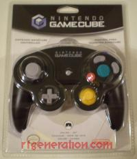 GameCube Controller Official Nintendo - Black Box Front 200px