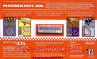 Nintendo DS Mario Kart DS Bundle Box Back 200px