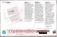 Nintendo DS Lite Polar White Box Back 200px