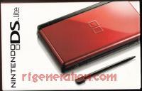 Nintendo DS Lite Crimson/Black Box Front 200px