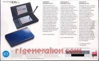 Nintendo DS Lite Cobalt / Black Box Back 200px