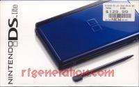 Nintendo DS Lite Cobalt / Black Box Front 200px