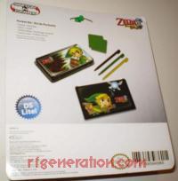 Legend of Zelda, The: Phantom Hourglass Pocket Kit  Box Back 200px