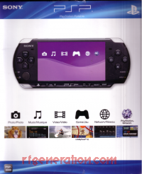 Sony PSP PSP 3000 Core Pack System - Piano Black Box Front 200px
