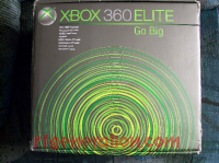 Microsoft Xbox 360 Elite Box Front 200px