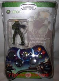 Microsoft Xbox 360 Wireless Controller Halo 3 Limited Edition - Master Chief Box Front 200px