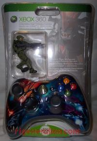Microsoft Xbox 360 Wireless Controller Halo 3 Limited Edition - Covenant Brute Box Front 200px