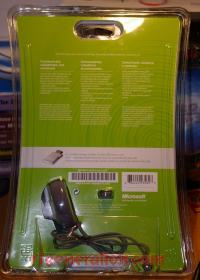 Xbox 360 Headset Official Microsoft - Large plug Box Back 200px