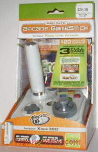 Arcade GameStick Mad Catz Box Front 200px