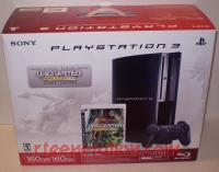 Sony PlayStation 3 160GB Limited Edition Uncharted Drake's Fortune Bundle Box Front 200px