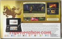 Nintendo 3DS Zelda 25th Anniversary Special Edition Box Back 200px